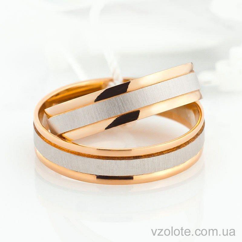 Купить обручальное кольцо комбинированное облегченное (арт. 4411923 ... 69acbb3fe1e