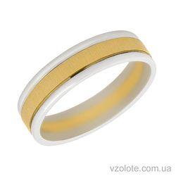 Золотое обручальное кольцо Верность
