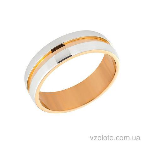 Золотое обручальное кольцо (арт. 10147-2)