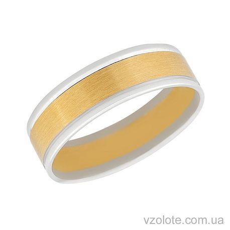 Обручальное кольцо из лимонного золота Соната
