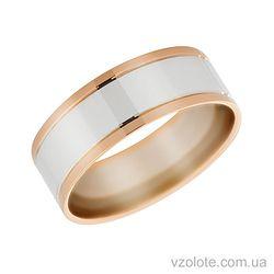 Золотое обручальное кольцо Каролина