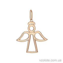 Золотой кулон Ангел (арт. 3003832101)