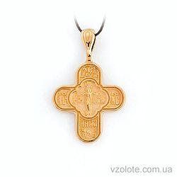 Золотой крестик (арт. 31618-01-0)