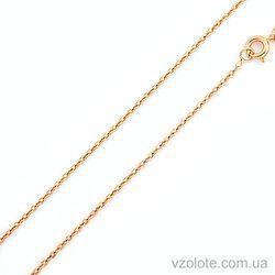 Золотая цепочка Якорная (арт. 66924)