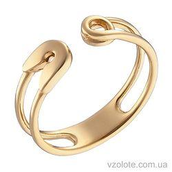 Кольцо из лимонного золота Булавка (арт. 1002815103)
