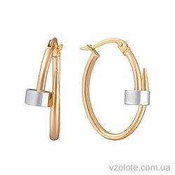 Золотые серьги (арт. 2002544112)