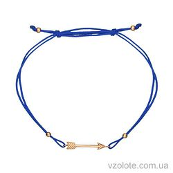 Золотой браслет синтетический (арт. 4213160101с)