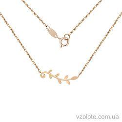 Золотое колье Ветвь (арт. 7002555101)