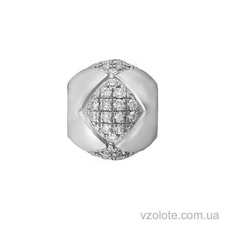 Подвеска из белого золота с бриллиантами (арт. 3102846202)